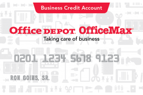 Office Depot OfficeMax Business Credit Card