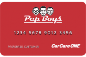 Pep Boys Credit Card
