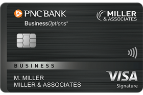 PNC BusinessOptions Visa Signature Credit Card