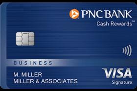 PNC Cash Rewards Visa Signature Business Credit Card