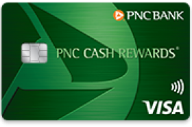 PNC Cash Rewards Visa Credit Card