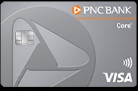 PNC Core Visa Credit Card