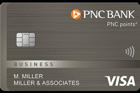 PNC points Visa Business Credit Card