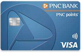 PNC points Visa Credit Card