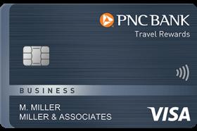 PNC Travel Rewards Visa Business Credit Card