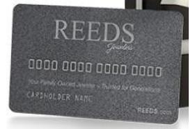 REEDS Jewelers Credit Card
