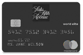 SaksFirst World Elite MasterCard®