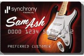 Sam Ash Credit Card