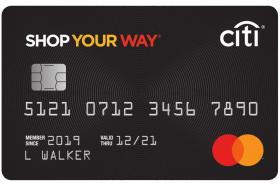 Sears Shop Your Way Mastercard®