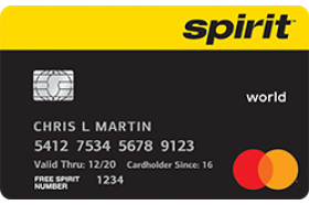 Spirit Airlines World Mastercard