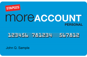 Staples® Personal More Account