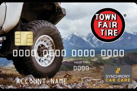 Town Fair Credit Card