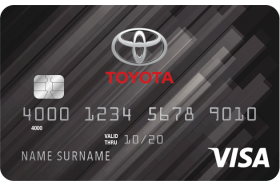 Toyota Rewards Visa Credit Card