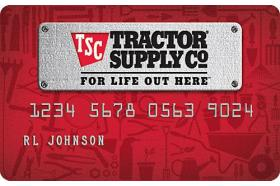 Tractor Supply Company Credit Card