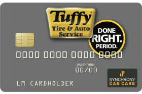 Tuffy Tire & Auto Service Credit Card