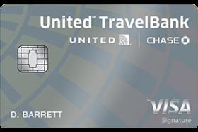 United MileagePlus TravelBank Card