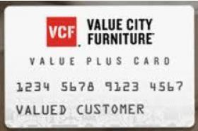 Value City Furniture Credit Card