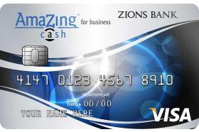 Zions Bank® AmaZing Cash® Back for Business