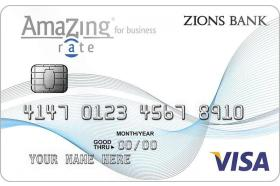 Zions Bank® AmaZing Rate® Business Credit Card