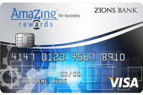 Zions Bank AmaZing Rewards® Business Credit Card