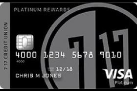 717 Credit Union Visa Platinum Rewards Credit Card