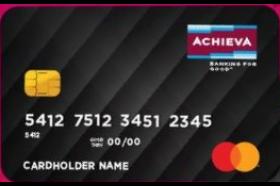 Achieva Credit Union Cash Rewards Mastercard