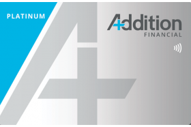 Addition Financial Credit Union Platinum Low Rate Credit Card