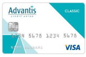 Advantis Credit Union Visa Classic Credit Card