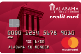 Alabama Credit Union Traditions MasterCard