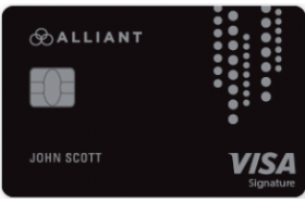 Alliant Credit Union Visa Signature Card