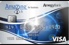 Amegy Bank AmaZing Cash® for Business Visa® Credit Card
