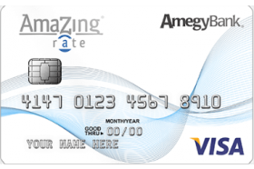 Amegy Amazing Rate Credit Card
