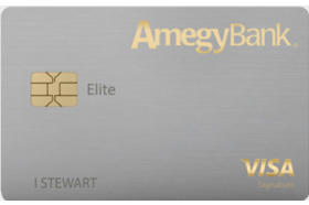 Amegy Elite Credit Card