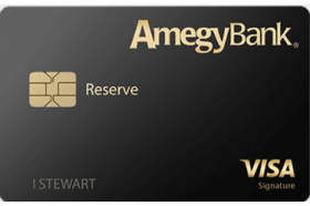 Amegy Bank Reserve Visa Credit Card
