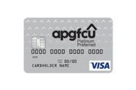 APG Federal Credit Union Visa Platinum Preferred Credit Card