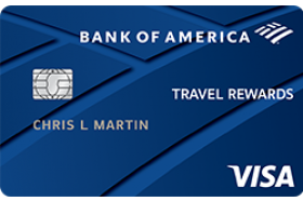 Bank of America® Travel Rewards for Students