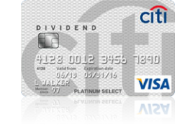 Citi Dividend Card for College Students
