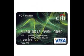 Citi Forward Visa Card