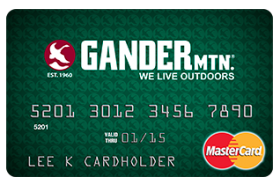 Gander Mountain Mastercard from Comenity Bank