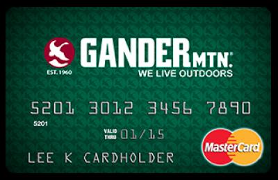 Gander Mountain Mastercard from Comenity Bank Reviews (September