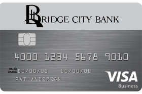 Bridge City Bank Business Card