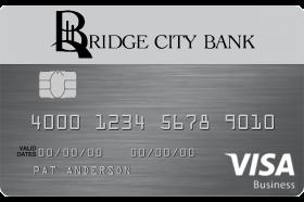 Bridge City Bank Business Cash Card