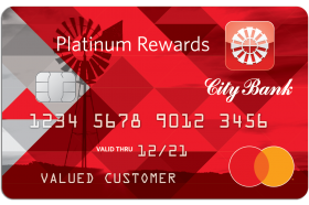 City Bank Platinum Rewards Card