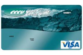 Clark County Credit Union Debit/ATM Card