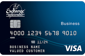 Exchange Bank and Trust Visa® Business Card