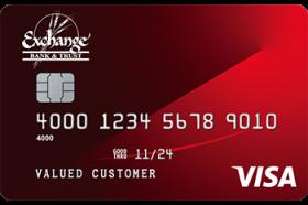 Exchange Bank and Trust Visa® Classic