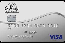 Exchange Bank and Trust Visa® Platinum