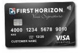 First Horizon Bank Visa Signature® credit card
