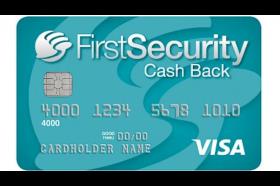 Firsts Security Bank Cash Back Visa