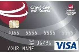 National Exchange Bank and Trust Visa® Platinum Credit Card